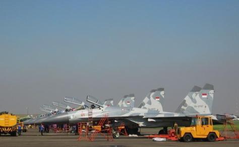 Sukhoi TNI AU 9