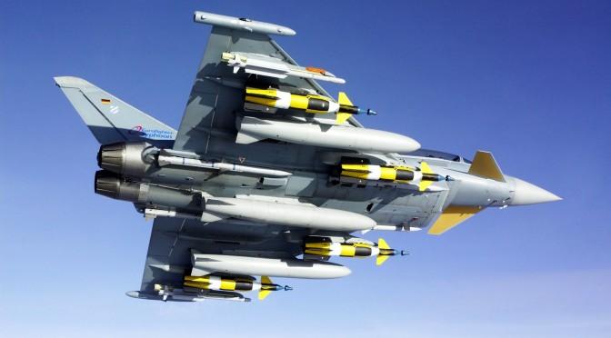 Inggris Jual 48 Jet Tempur Typhoon ke Arab Saudi