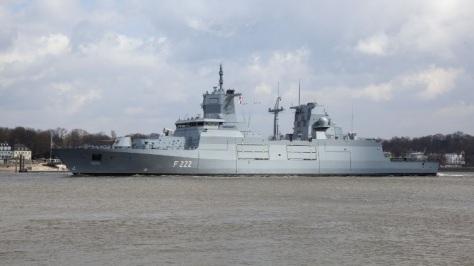 Kapal freget 125 Jerman