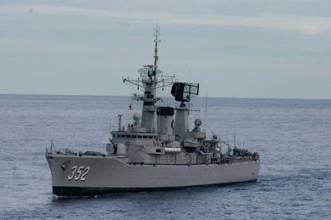 Kapal KRI Slamet Riyadi 2