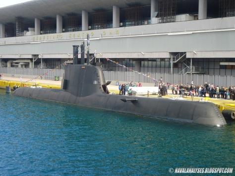 Kapal selam U-214 Yunani