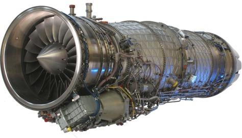 Pesawat KFX EJ200 Engine