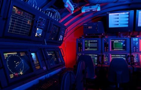 Simulator kapal selam Rheinmetall