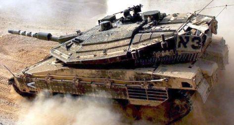 Large Israeli military exercise in Judean Desert