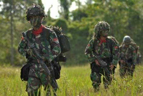 Tentara patroli di poso