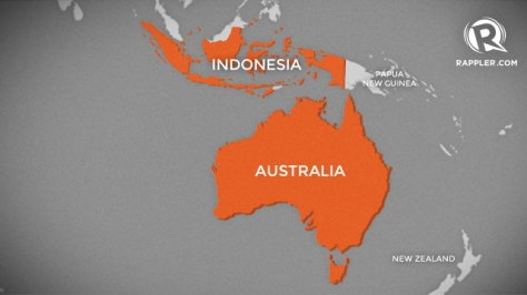 australia-indonesia-map