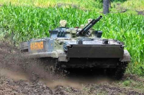 BMP 3F Marinir