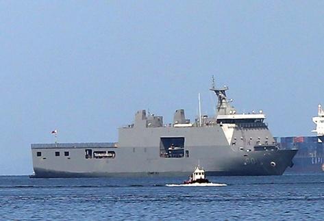 BRP Tarlac philippine-navy