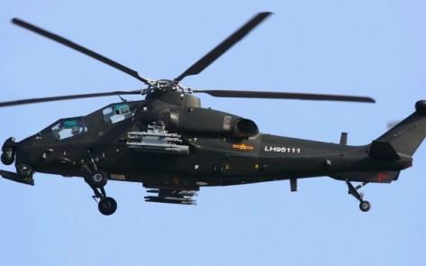 Helikopter Z 10 Helicopter-gunship