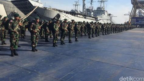 Pasukan TNI di kirim ke perbatasan Indonesia - PNG