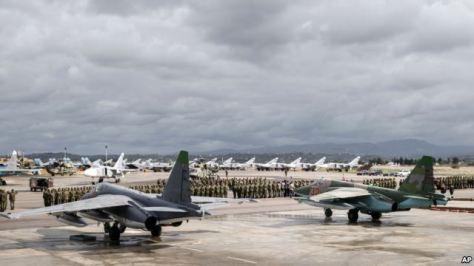 Pesawat Rusia di Suriah