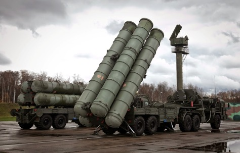 S-500 Russian made surface to air missile system