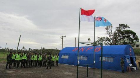 TNI bantu rekontruksi Fiji