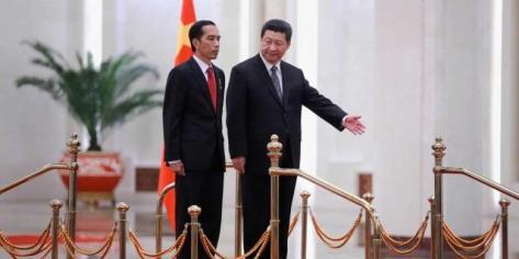 Joko Widodo dan Xi jin ping