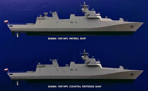 Kapal Perang Damen 10514PL 1