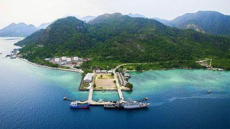 Selat Lama Port Natuna