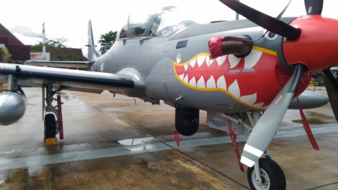 Super Tucano with FLIR