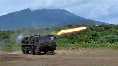 Firing Test Newest MLRS Platform for Marine Corps 2