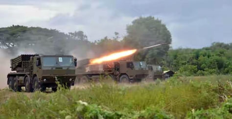Firing Test Newest MLRS Platform for Marine Corps 3