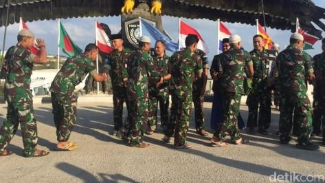 Kontingen Garuda Unifil Rayakan Lebaran 2016
