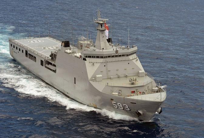 Angkatan Laut Jelaskan Spesifikasi LPD Ketujuh
