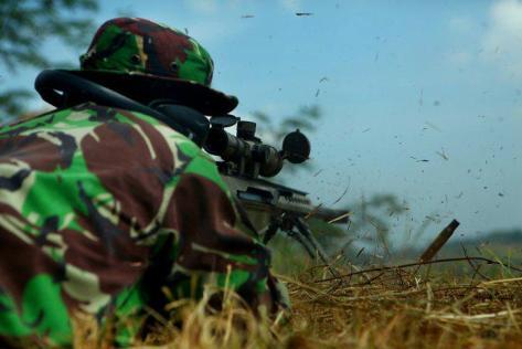 Sniper TNI istimewa