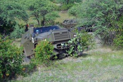 Uji fungsi MLRS RM 70 Vampir beserta kendaraan Aligator dan Tatrapan (all photos Korps Marinir) 5
