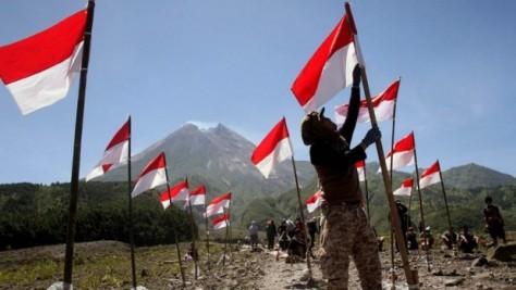 Bendera Merah Putih di Papua