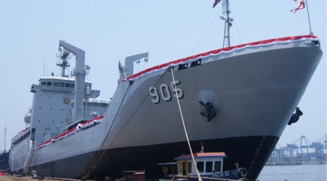 PT Batamec Shipyard Lakukan Keel Laying Kapal BCM TNI AL