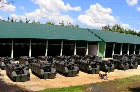 M113 A1-Be Yonmek 412 Purworejo 36 UNIT