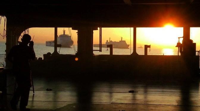 Panglima Armada Harusnya di Kapal