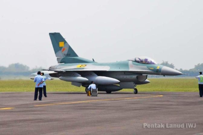 Danlanud Iswahjudi Buka Konversi F-16 C/ D
