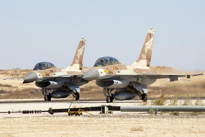 Jet Tempur Israel Serang Dua Tank Suriah