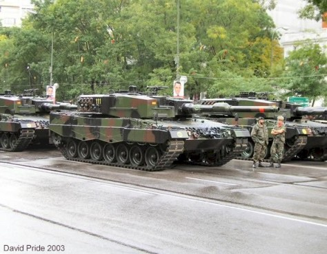 Leopard 2 A4 Spanyol