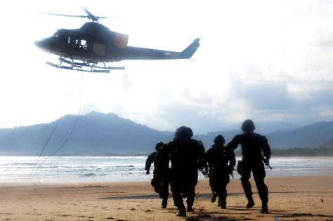 Marinir Heli Operation Insertion 1