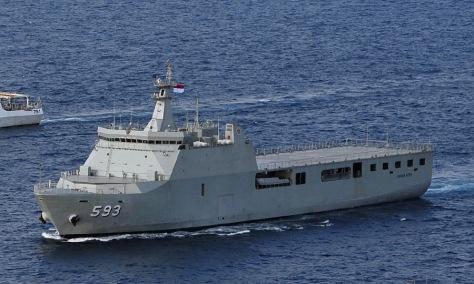 Kri Banda Aceh 593 Berlayar Ke Sidney Lancer Cell