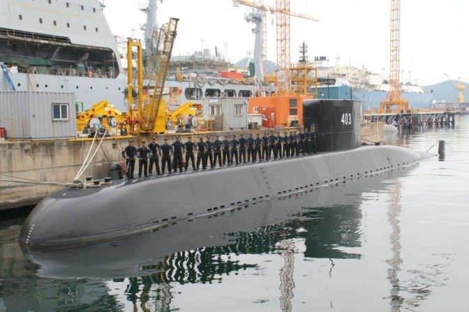 Kapal Selam Chang-Bogo TNI AL Dikirim Bulan Juni