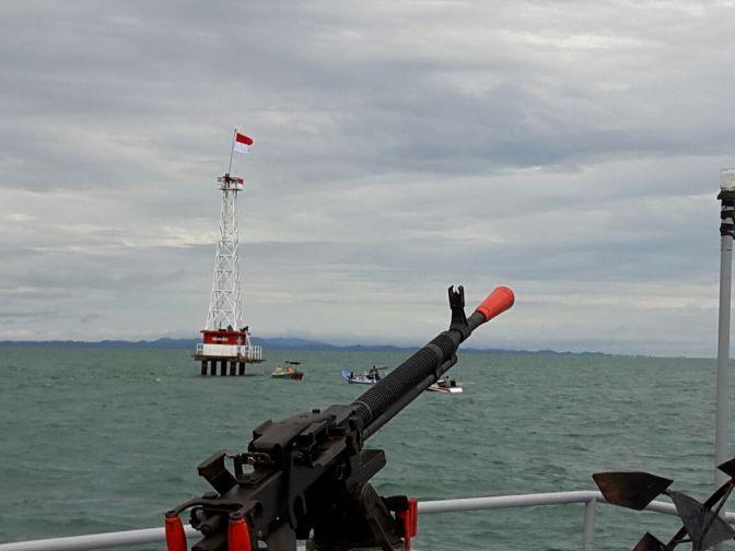 TNI Mengacu Hukum Laut Internasional