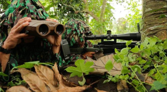 Danjen Kopassus Minta Prajurit Tingkatkan Kemampuan Pertempuran Hutan