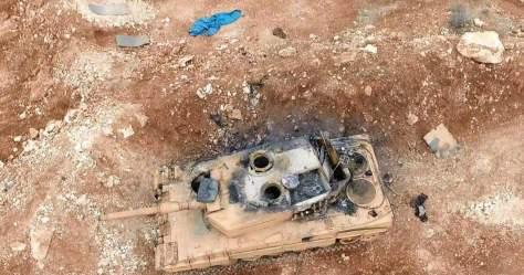 leopard-2-a4-turki-hancur