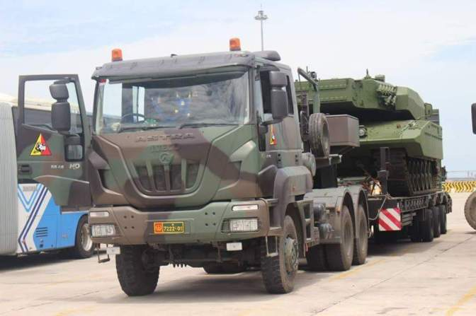 Indonesia Menerima 16 Leopard 2 RI