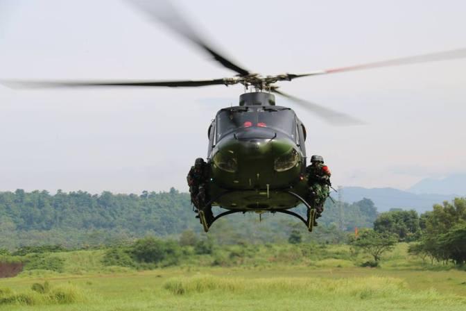 Personel TNI Latihan Penanggulangan Teror di Jemaja