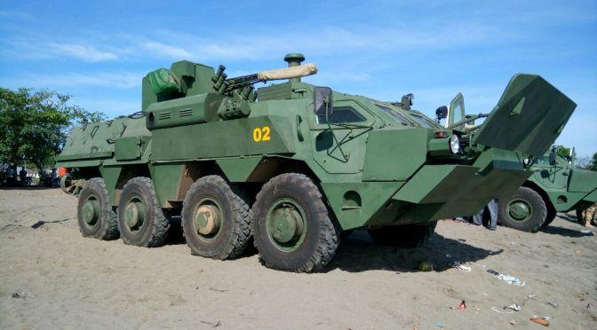 BTR 4M Uji Coba di Indonesia (foto)
