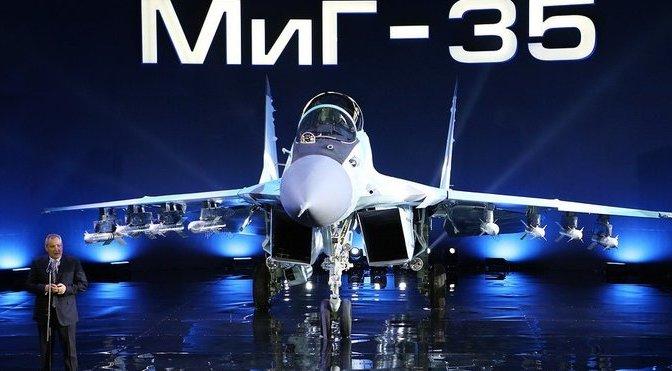 MiG-35 Resmi Diluncurkan