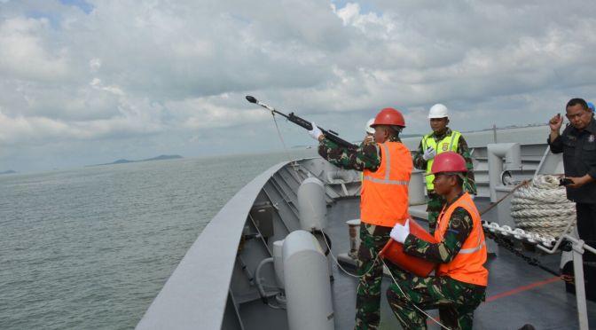 Prajurit KRI SIM-367 Laksanakan Latihan RAS