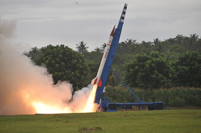 RHAN 450, Roket Balistik Indonesia