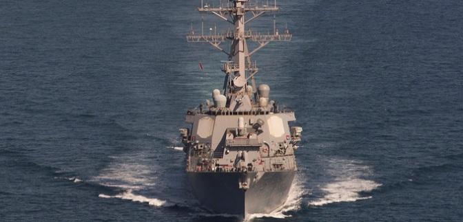 Dua Kapal Perang AS Latihan Perang dengan Qatar