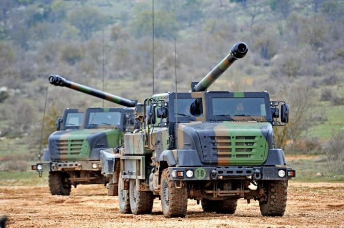 Nexter Pasok 18 Unit CAESAR, FINDART, Simulator CAESAR dan Kendaraan Pendukung Untuk Indonesia