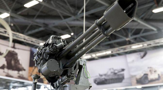 Marinir Lakukan Uji Tembak GAU-19 (Video)