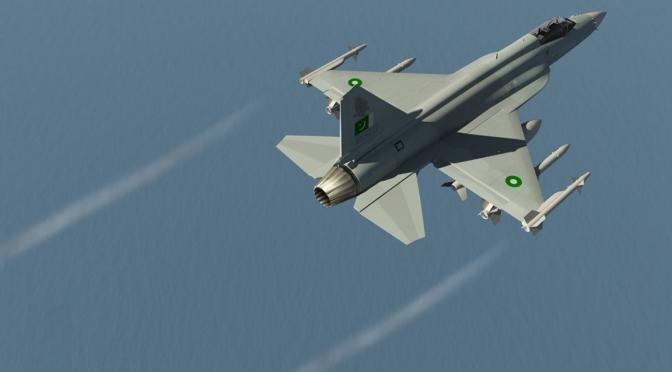 """Pakistan Tempatkan Skuadron JF-17 """"Thunder"""" ke Perbatasan Afghanistan"""